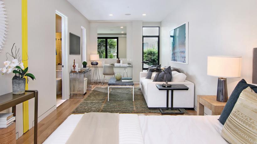 Ground floor guest suite
